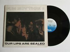 """FUN BOY THREE Our Lips Are Sealed LP 12"""" SPECIAL REMIX SYNTH POP NEW WAVE"""