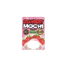 Strawberry Mochi Cali Tin Labels Mylar Bag Stickers