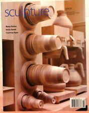 SCULPTURE Magazine BODIES 7 BUILDINGS Botanical Light Sculpture Oct 2014 $7