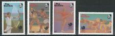 Gambia - Olympische Sommerspiele Seoul Satz postfrisch 1988 Mi. 758-761