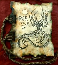 NECRONOMICON CODEX  Demons of Lemuria cthulhu larp prop lovecraft monsters