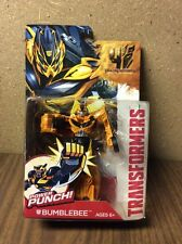 Transformers Bumblebee Action Figure Power Punch Age of Extinction Deluxe New