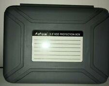 Grey 3.5 HDD Hard Disk Drive Enclosure Protective Box Storage Case