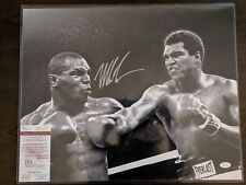Mike Tyson Signed 16x20 Photo with Muhammad Ali Auto Autograph Picture