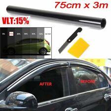 75x300cm Auto Tönungsfolie Sonnenschutz-Folie 15% schwarz für Fenster-Scheiben