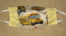 School Bus Face masks, handmade Usa