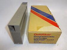GOLDSTAR K5X-220 (AC) PROGRAMMABLE CONTROLLER MASTER-K250 110VAC, 15MSEC NEW