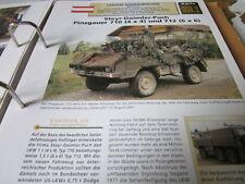 Archiv Militärfahrzeuge Leichte Rad Kfz Österreich 8.1 Pinzgauer 710 Steyr Daiml