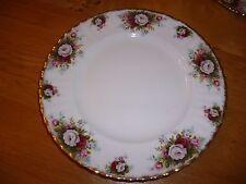 "6 Royal Albert ""Celebration"" 27cm Dinner Plates  VGC ~ 1st Quality"