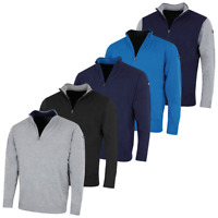 Stuburt Mens Urban Half Zip Neck Golf Sweater Pullover 40% OFF RRP