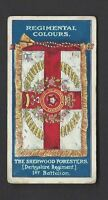 GALLAHER - REGIMENTAL COLOURS & STANDARDS - #186 THE SHERWOOD FORESTERS
