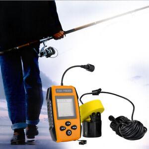 Kayak Fishing Portable   Finder Deep Sea Lake Bass Sonar Fishing Detector