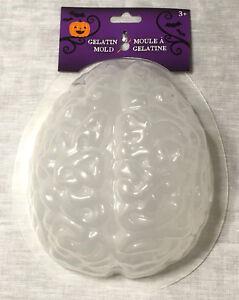 Brain Gelatin Mold Craft Kitchen Supply - Spooky Halloween Science Biology