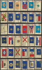 Scott #1633-82 Used Set of 50,  Bicentennial State Flags