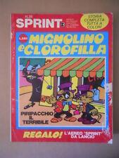 ALBI SPRINT n°3 1971 Mignolino e Clorofilla [G464]Discreto