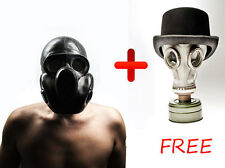 "Vintage unused Soviet gas mask ""PBF"" Get one white GP 5 for FREE Size 1 Small"