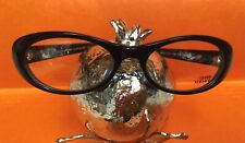 New Ladies Vintage Gianni Versace Eyeglasses Mod.V23 Peacock Blue RXable Frames