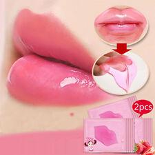 Korean New Plump Lip Care Crystal Collagen Mask Membrane Moisture Essence Makeup