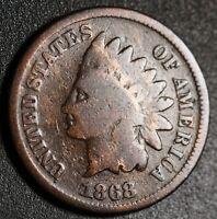 1868 INDIAN HEAD CENT - GOOD+