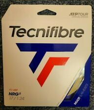 Tecnifibre NRG2 17 Gauge 1.24mm Tennis String NEW Natural