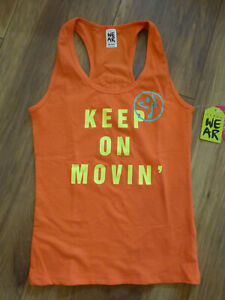 Zumba Fitness Shirt Top *Original Row Racerback * Gr. M / 36-38 *NEU*