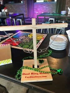 Dual Ring Daddy, The Best Tabletop Bimini Hook and Ring Toss Game In The Land