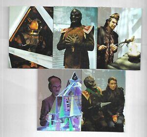 Babylon 5 Ultra Fleer 1995 Prismatic Foil PF1 PF2 PF3 PF4 PF5 PF6 PF7 PF8 SET