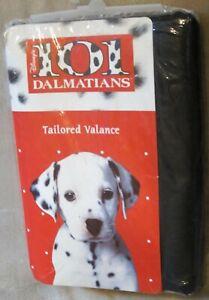 Disney 101 Dalmatians Black Valance New!