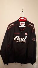 Dale Earnhardt jr Chase authentics Budwiser #8 black and red jacket like new XXL