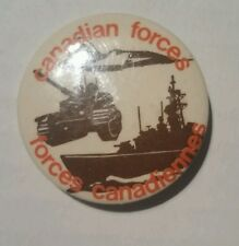 Canadian forces pin badge vintage