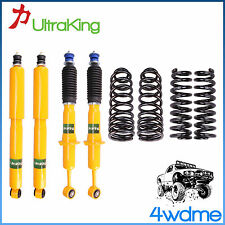 "Toyota Prado 120 Series Front & Rear Shocks + Coil Springs 2"" 50mm HD Lift Kit"