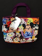 Disneyland Hong Kong Exclusive Tsum Tsum Stitch Perry Mickey Halloween Bag NWT