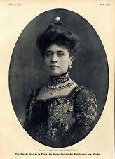 Amanda díaz de la torre (hija del presidente de méxico) c.1906
