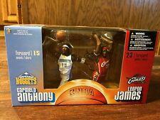 Lebron James-Carmelo Anthony-McFarlane's Sportspicks-2 pack - Series 6 - NIB