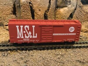 N Scale Micro trains 40' single door boxcar M StL MINNEAPOLIS St LOUIS NIB