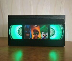 Lego Batman VHS Night Light, Computer Game, Bed Light, Desk Light, Cartoon, TV