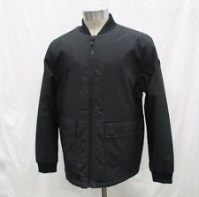 Calvin Klein Coat Men's Medium  Stretch Black  Full Zip Jacket M179