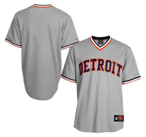 NWT Detroit Tigers Majestic Big & Tall Cooperstown Men's Replica Jersey