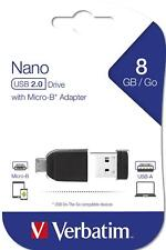 Verbatim Store' n' Go Nano - Memoria USB de 8 GB