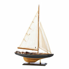 Wooden Ship Model, Sailing Ship Models, Vintage Bermuda Tall Ship Model