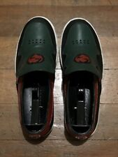Gucci Leather x Suede Slip on sneakers