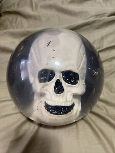 ebonite The skull bowling ball Very Rare!