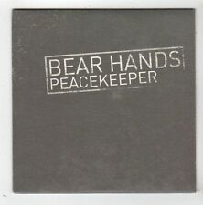 (FZ96) Bear Hands, Peacekeeper - 2014 DJ CD