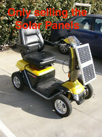 Mobility Scooter Solar Panel Kit