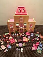 Fisher price ~ Loving Family Grand Mansion ~ Loaded with TONS of Pieces!