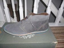 Mens Timberland Revenia Grey Suede Chukka boots size UK 6.5 New.9737B
