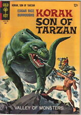 Korak Son of Tarzan Comic Book #17 Gold Key Comics 1967 FINE