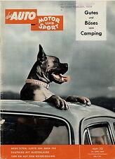 Auto Motor Sport 13 59 1959 BMW 700 Picador Troll Wilk Camper Templar Strolch