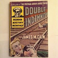 Double Indemnity - James Cain - Vg+ - Digest Mystery Monthly - 1St Stand Alone