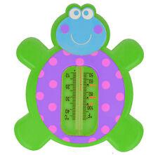 Termómetro de Baño Akuku A0270 bebé seguridad flotante Tortuga Verde Juguete thermomether